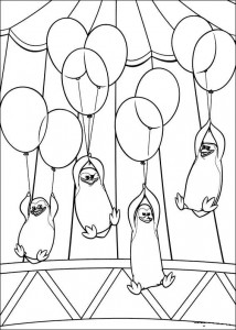 coloring page Madagascar 3
