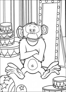 coloring page Madagascar 3 (4)
