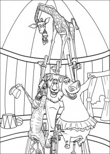 coloring page Madagascar 3 (9)