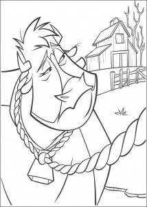 coloring page Maggie (1)