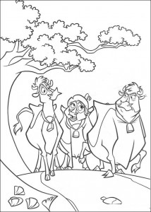 coloring page Maggie, Mrs. Caloway, Grace (2)