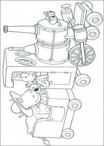 coloring page Magic Roundabout (24)