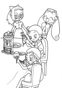 coloring page Magic Doremi (10)