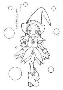 coloring page Magic Doremi (12)