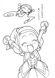 coloring page Magic Doremi (13)
