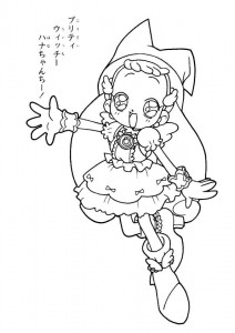 coloring page Magic Doremi (16)