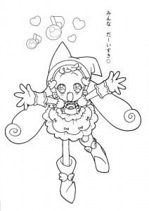 coloring page Magic Doremi (17)