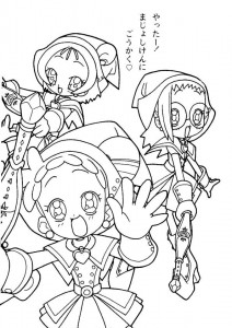 coloring page Magic Doremi (18)