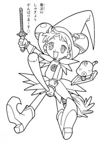 coloring page Magic Doremi (2)