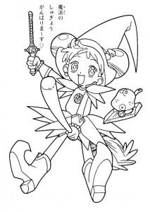 målarbok Magic Doremi (2)