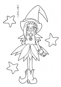 coloring page Magic Doremi (23)