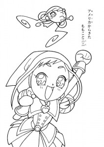 coloring page Magic Doremi (26)