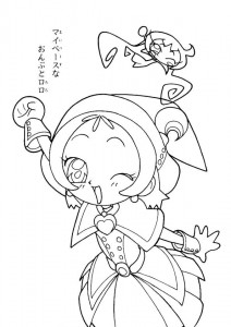 coloring page Magic Doremi (27)