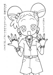 coloring page Magic Doremi (4)