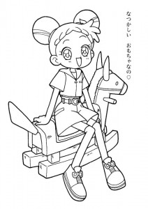 coloring page Magic Doremi (5)