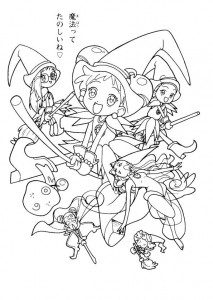 coloring page Magic Doremi (6)