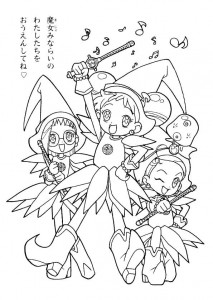 coloring page Magic Doremi (9)