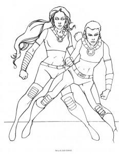 Dibujo para colorear Magneto