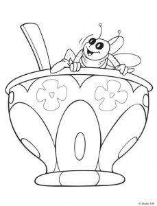 coloring page Maja the Bee (15)