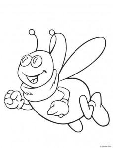 målarbok Maja the Bee (16)