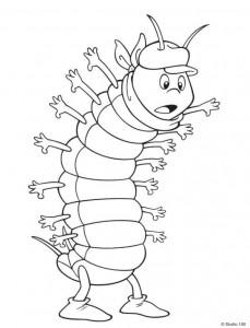 målarbok Maja the Bee (17)