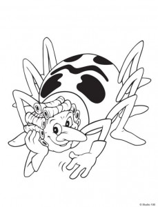 coloring page Maja the Bee (19)