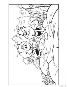 coloring page Maja the Bee (23)