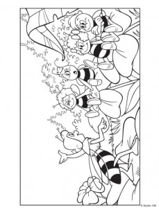 coloring page Maja the Bee (27)