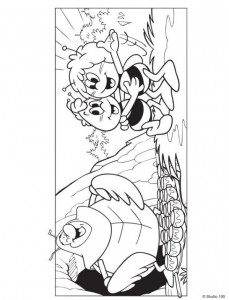 coloring page Maja the Bee (28)