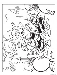 coloring page Maja the Bee (29)