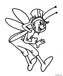 målarbok Maja the Bee (43)