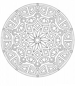 kleurplaat Mandala (21)