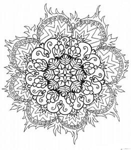 kleurplaat Mandala (22)