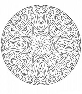 kleurplaat Mandala (23)