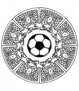 kleurplaat Mandala keepers