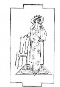 kleurplaat Margaret Tobin Brown, overlevende