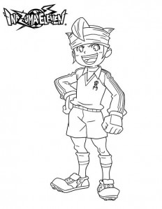 coloring page Mark Evans 2