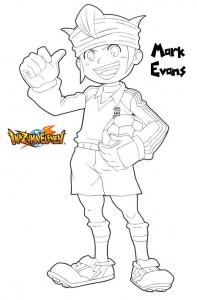 coloring page Mark Evans