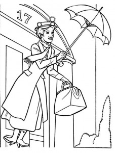 coloring page Mary Poppins (12)