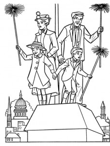 coloring page Mary Poppins (14)