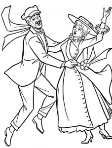coloring page Mary Poppins (15)