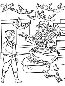 coloring page Mary Poppins (16)