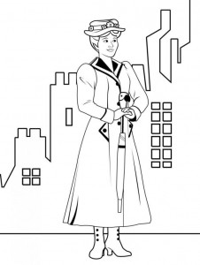 coloring page Mary Poppins (4)