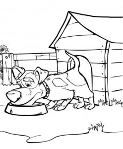 coloring page Mascha and bear (30)