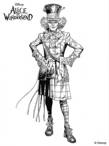 matt hatter coloring page