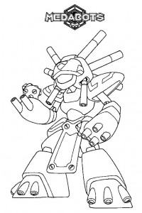 coloring page Medabots (2)