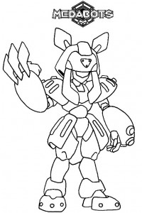 coloring page Medabots (3)
