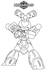 coloring page Medabots (5)