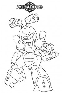 coloring page Medabots (6)