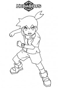 coloring page Medabots (7)